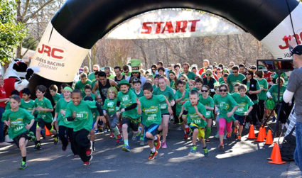 Register for the Healthy UCity Race Series: Green on the Green...