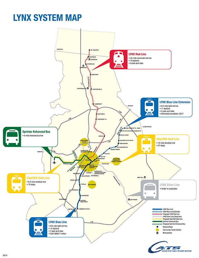 Could light rail actually make it to Ballantyne one day? - Charlotte on
