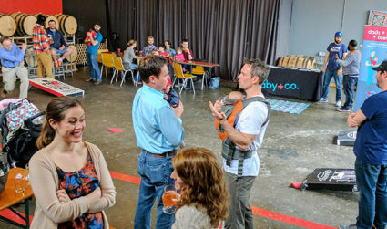 New or expecting dad looking for Charlotte's cool dad community? Check out Dads+Bags+Brews – Baby+Co's pint-filled brewery hangout for dads at Birdsong Brewing on 2/19