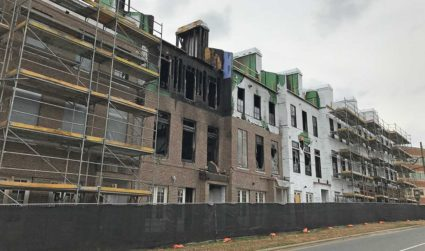 Construction will restart soon on the townhomes across from Midnight Diner