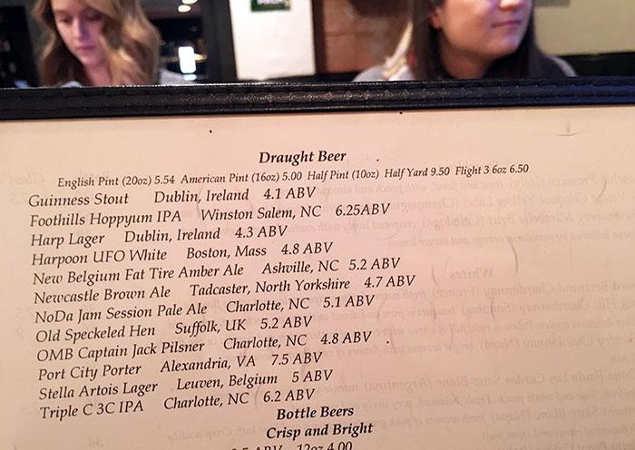 draught-beer-list-at-sir-edmond-halleys