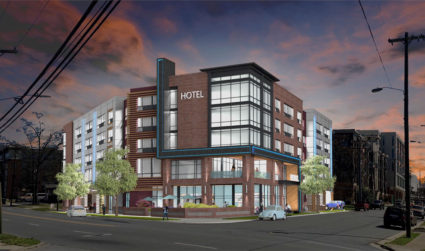 South End's first hotel will be a Holiday Inn Express, now...