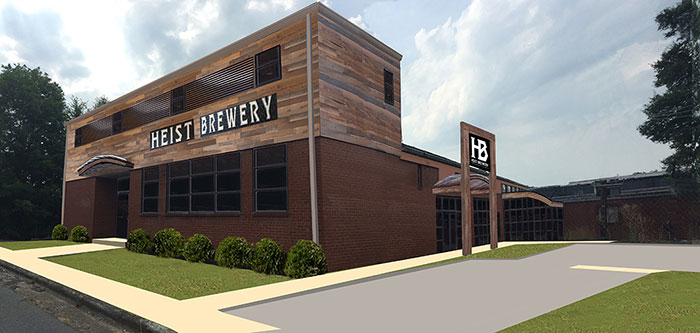 Heist Brewing S New Second Location Will Have A One Acre