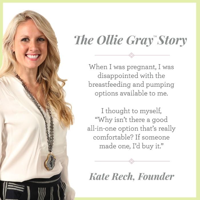 ollie gray nursing bra