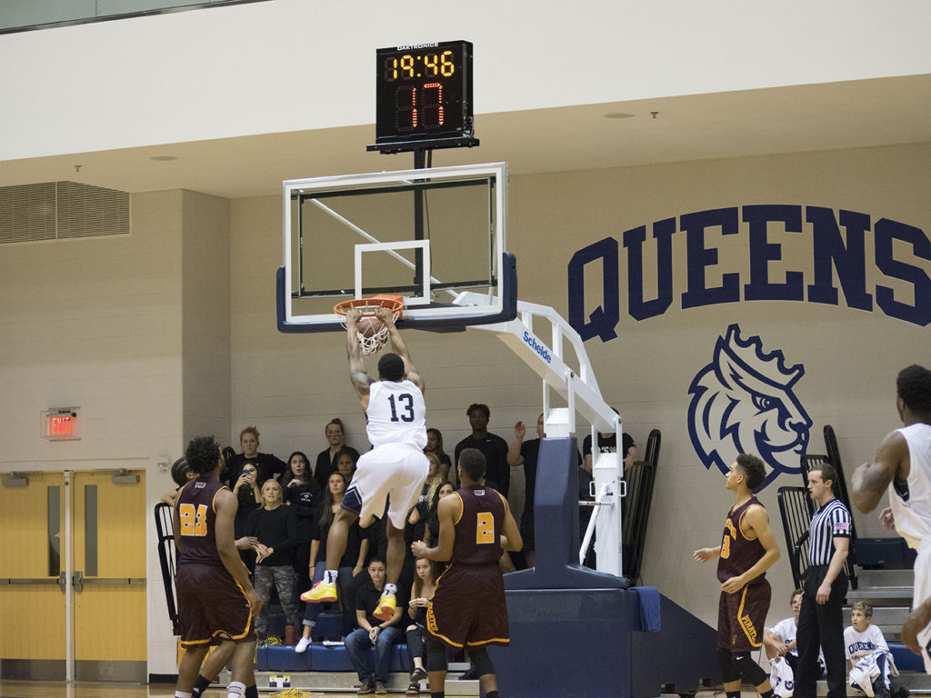 I got tired of Charlotte's losing sports teams, but then I found Queens basketball