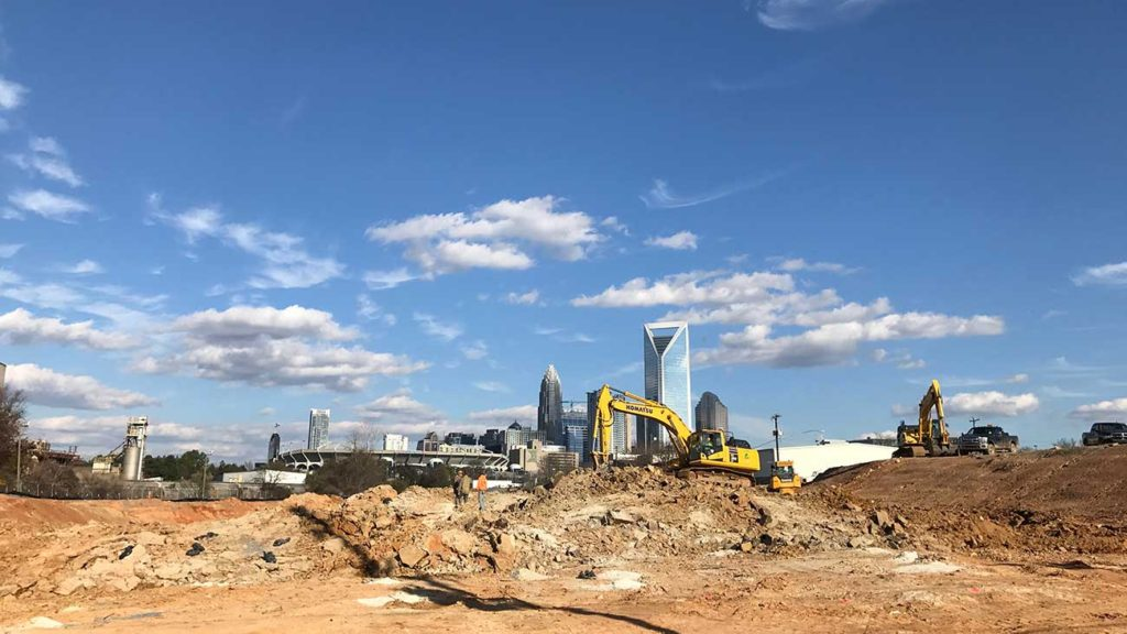 A huge chunk of valuable South End land is going to be … a railyard