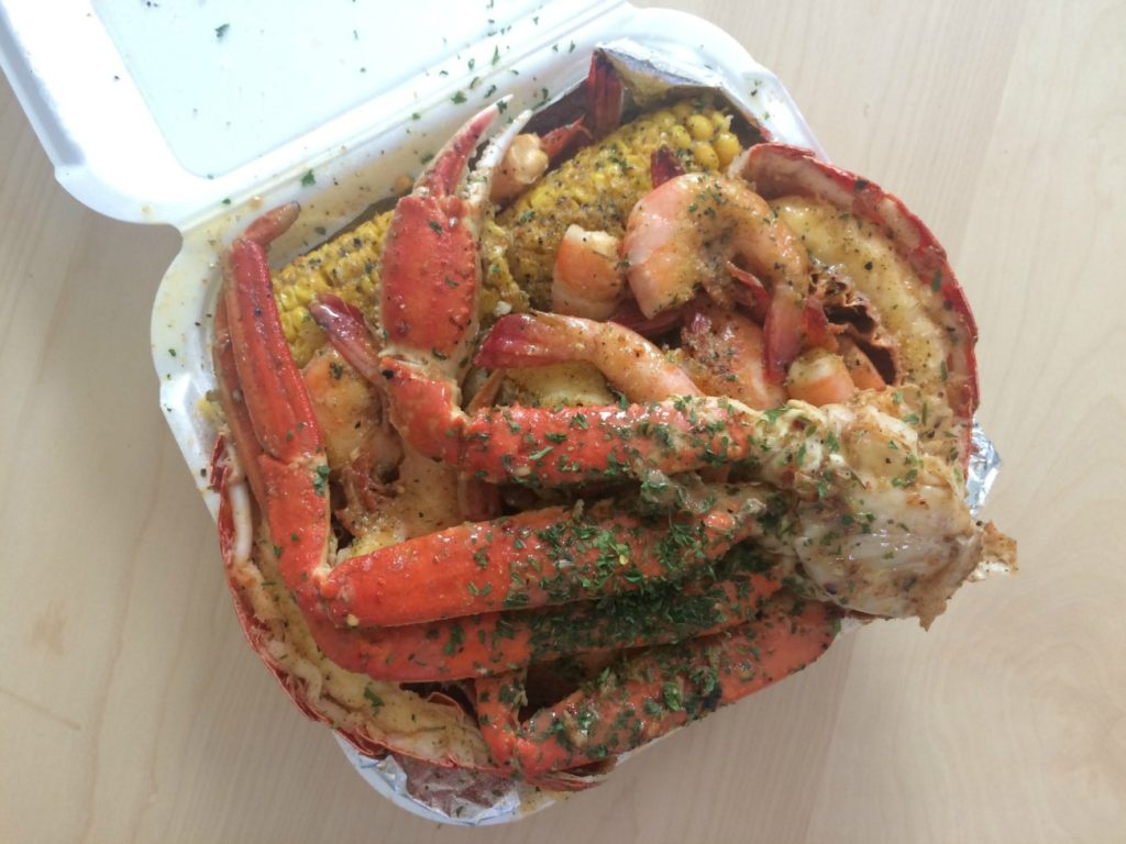 Charlotte's hottest seafood operation is a pop-up at an Indian restaurant on Albemarle Road