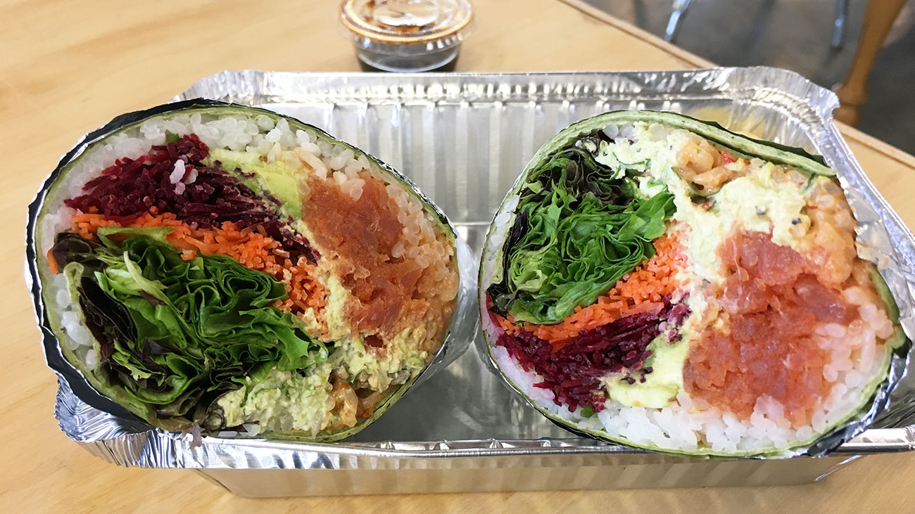 Have You Tried The Sushi Burrito Charlotte Agenda
