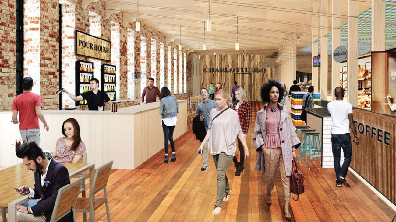 New Food Hall Coming to the 'Hood