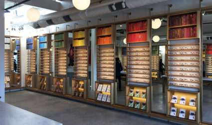 Warby Parker's retail store opens this Saturday in South End