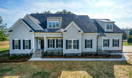 Gorgeous 1.5 story new construction home on 1.54 acres