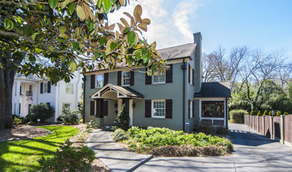 Elegant and renovated two story Myers Park home