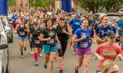 Not a morning person? No problem. Join in for the FreeMoreWest 5K on the Greenway