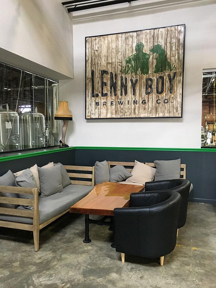 lenny boy inside