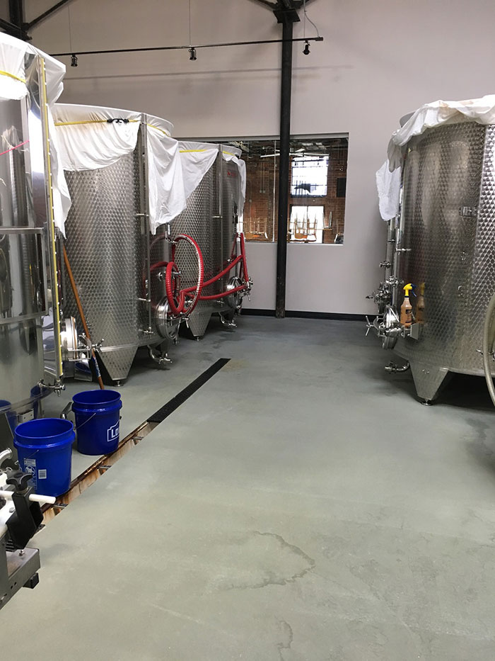 inside lenny boy brewing