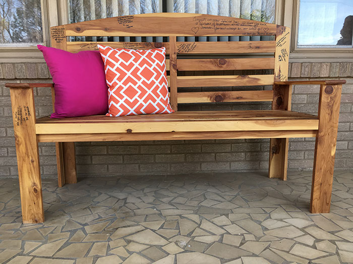 knotty artisans bench
