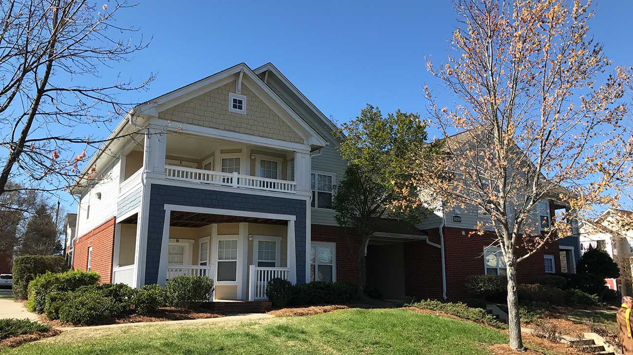The park at oaklawn apartments featured in the charlotte for Affordable house