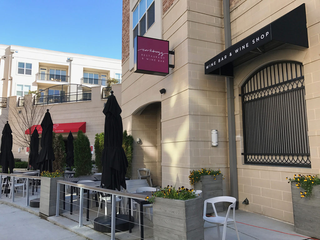 Corkbuzz sister concept The Cellar @ Corkbuzz will open early next week. See inside and learn about the wine profile experience
