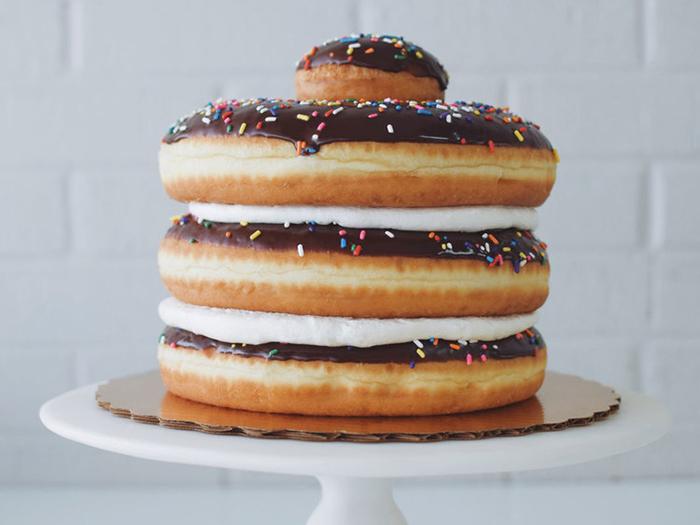 Suarez Bakery Doughnut Cake