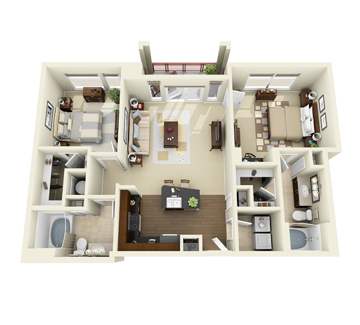 Heres what rent will run you at 5 of Plaza Midwoods nicest apartments  and what youll get
