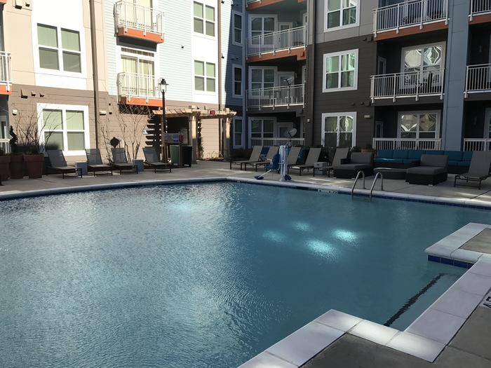 the vistas pool plaza midwood apartment