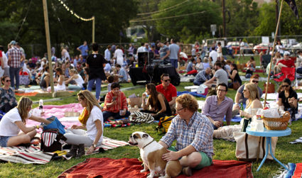 Spend a fun evening outdoors in Freedom Park during Catawba Lands Conservancy's Pop-Up Picnic on April 28