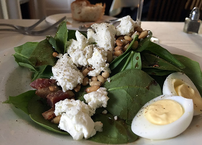 baby-spinach-salad-at-fig-tree-restaurant-charlotte