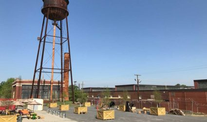 Camp North End will be a stunning community hangout come summer