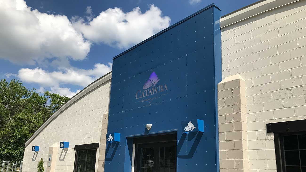 Peek inside Catawba Brewing's new Charlotte location, set to open in May