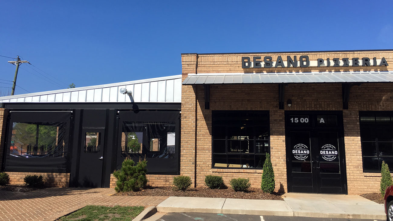 Desano Pizza Bakery finishing construction in Midtown, set to open in early May. Peek inside.