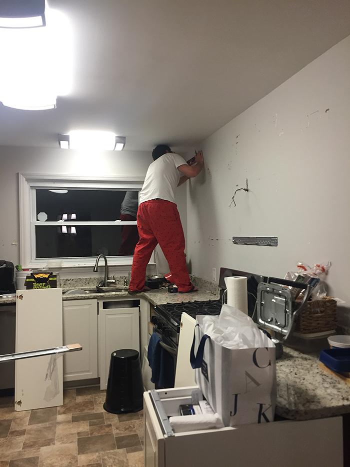 We remodeled our entire kitchen and kept the total under