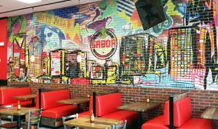 """""""We'd like to take over Chipotle,"""" says Sabor owner Dalton Espaillat"""