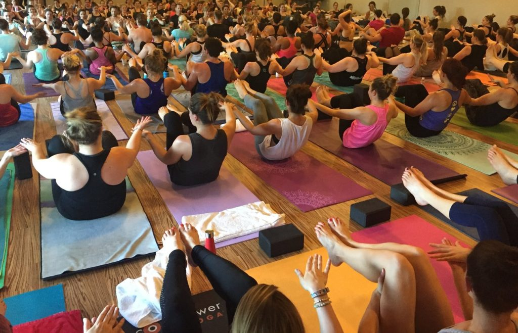 I went to a CorePower Yoga class and here's what you can expect