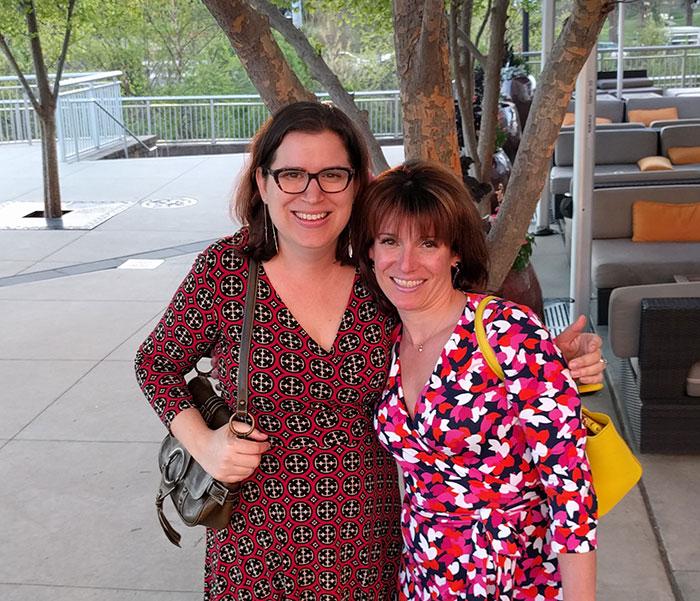 sarah grano and Sarah paris