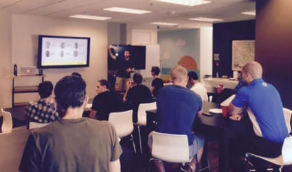 Upgrade your lunch hour with a tech talk at Skookum today...