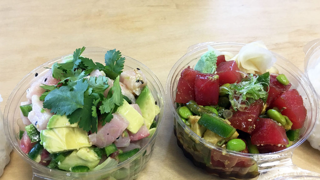 Bonsai expands its trendy sushi menu with more sushi burritos and new poke bowls
