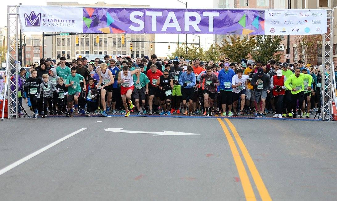 Here's why the relay is one of the best ways to run the Novant Health Charlotte Marathon