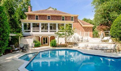 Renovated home with backyard oasis