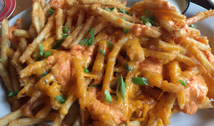 I said extra fries, not exercise. 5 popular Charlotte cheese fries,...