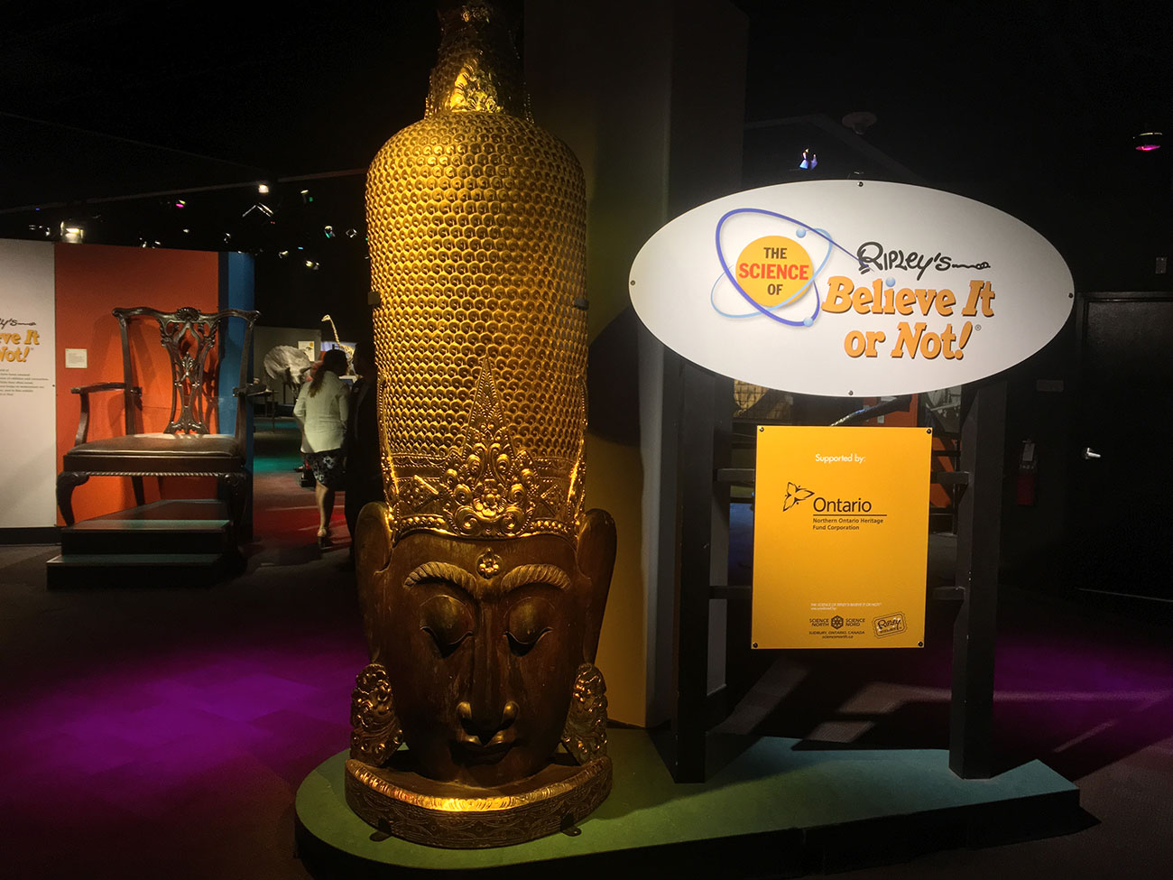 """We got a first look at Discovery Place's new """"record-breaking"""" exhibit. It was weird, in a good way"""