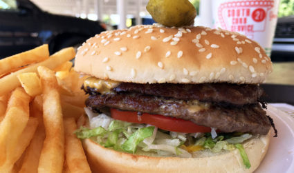 Have you eaten the $5.65 Super Boy Hamburger served curbside?