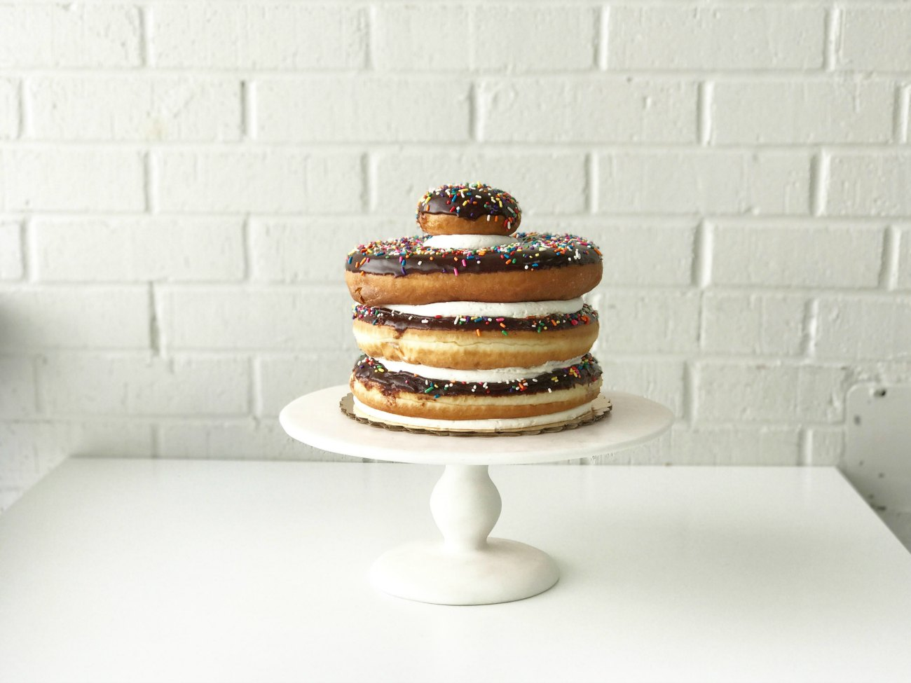 Here's the ultimate cake for doughnut lovers