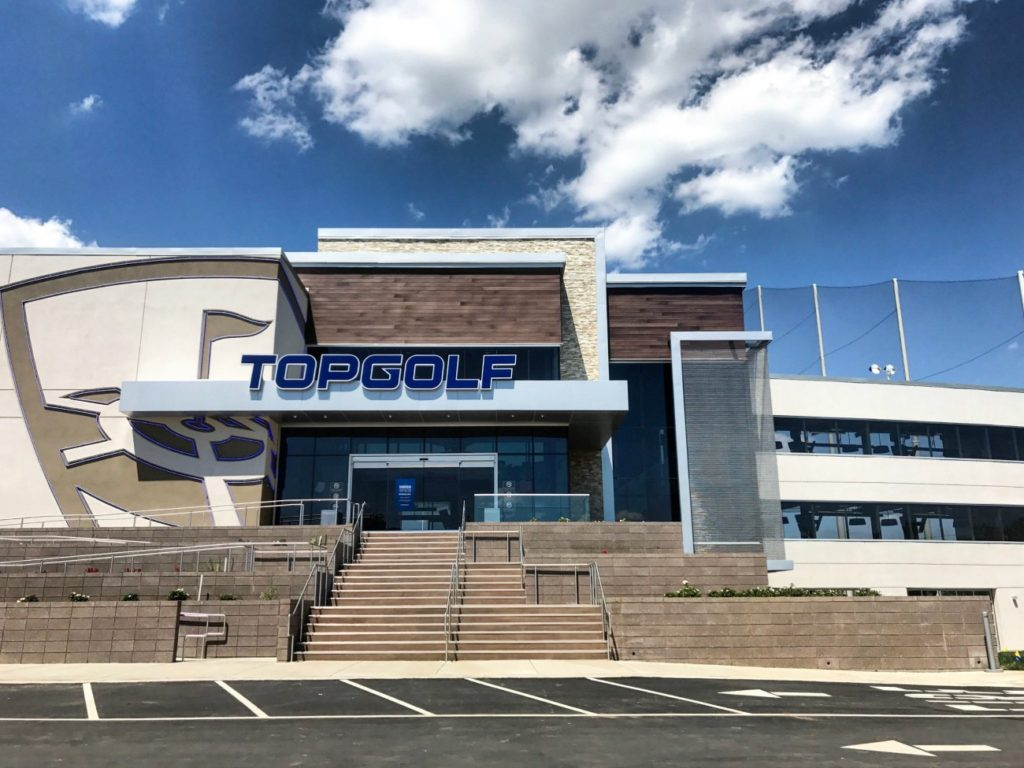 Charlotte is in love with Topgolf. A second one could be on the way