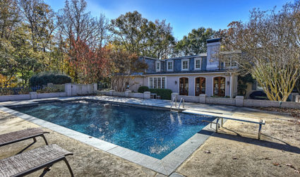 Home of the day: Elegant French provincial estate on 10th fairway of Carmel CC's north course / 5bd,5.5ba / $1,699,990