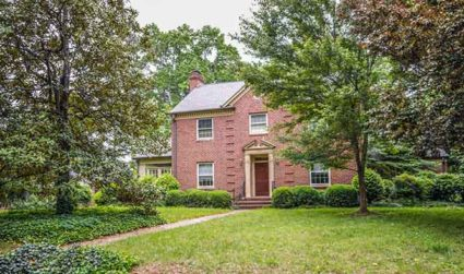 Historic Myers Park home on large lot