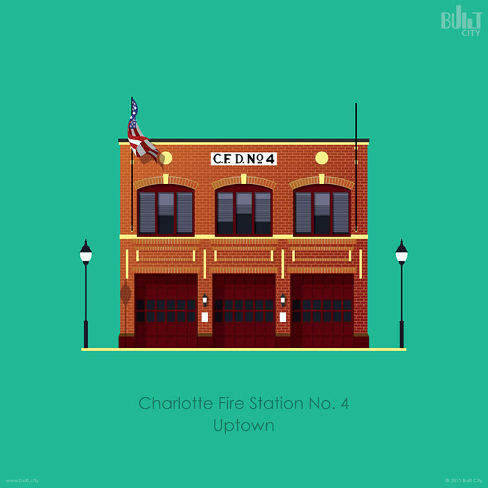 fire-station-digital-art-charlotte
