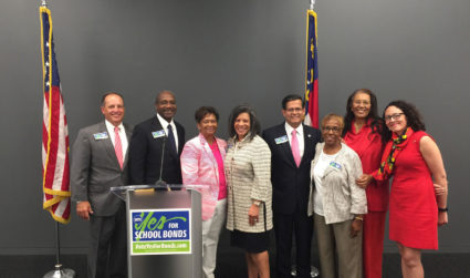 Charlotte rallies business bigwigs to kick off school bond campaign