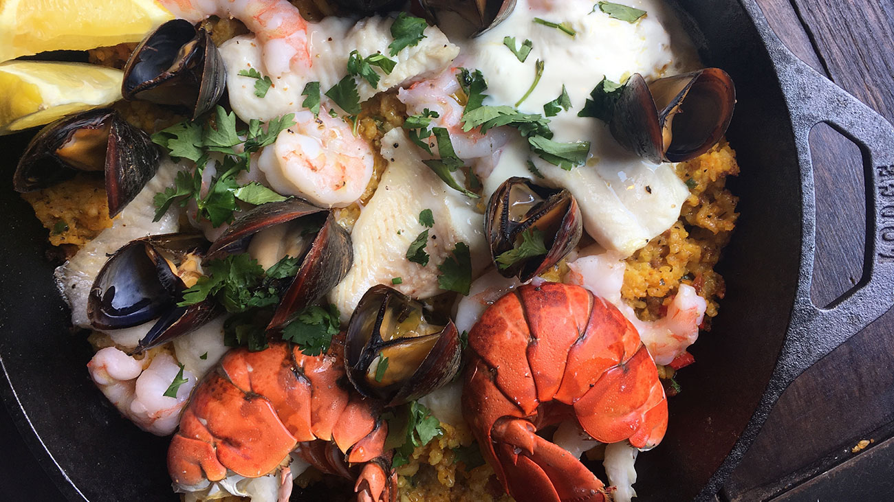 Seafood for brunch? Take a look at Sea Level's take