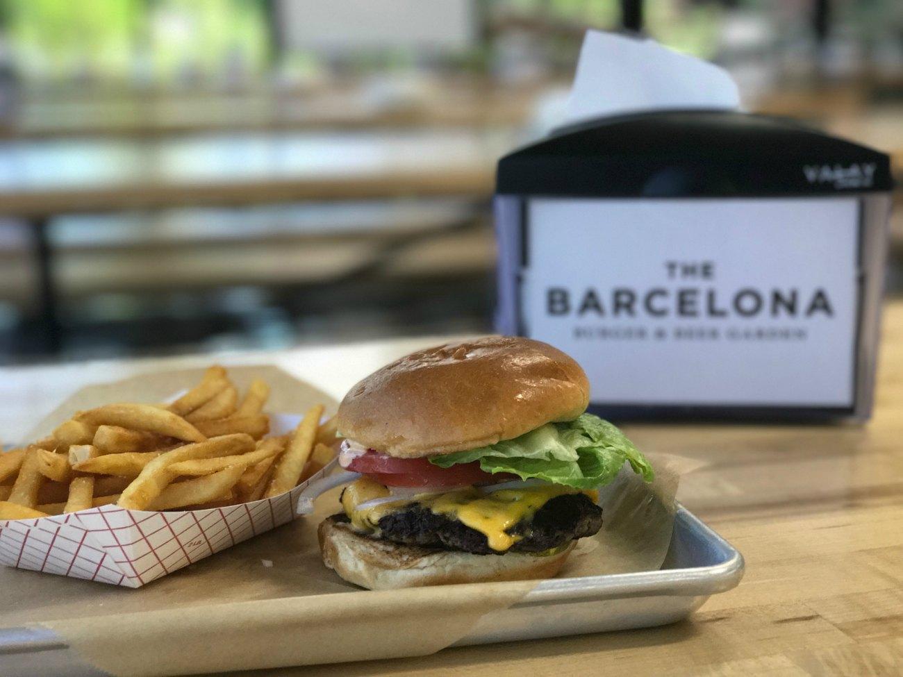 The Barcelona Burger & Beer Garden is now open in Mooresville