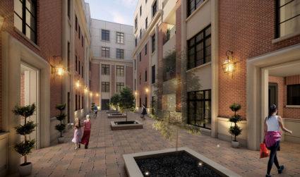 """Jim Gross makes smart bet that """"full-floor"""" condos in Myers Park..."""